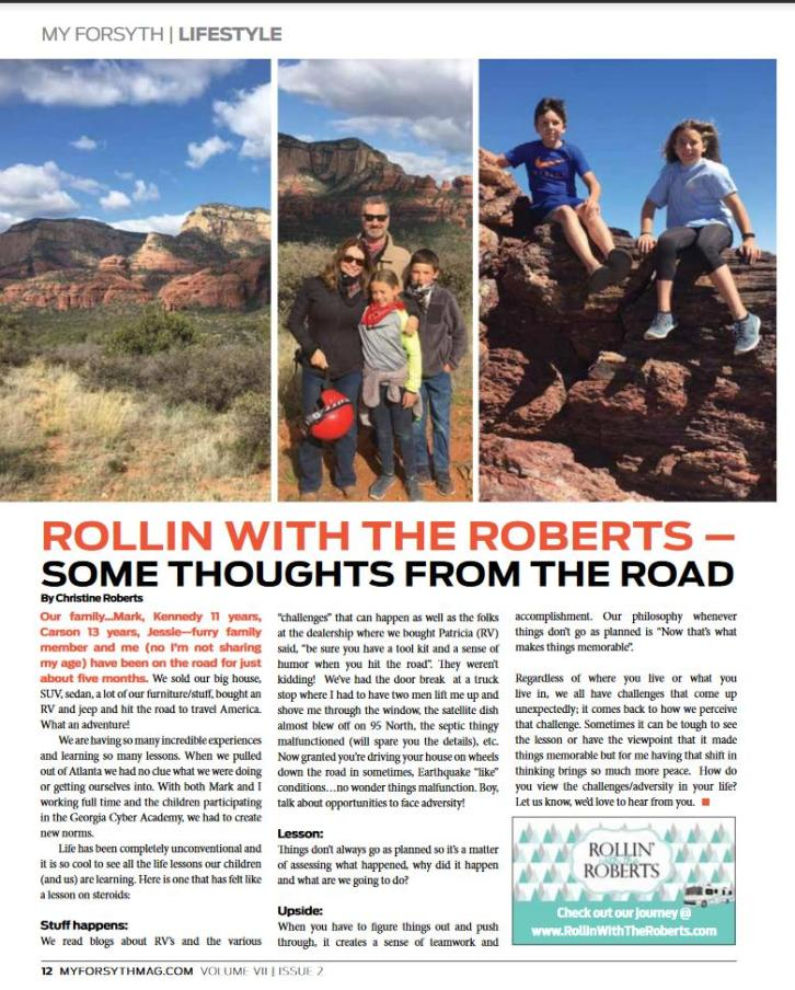 RollinWithRoberts-MyForsythArticle-ThoughtsFromTheRoad